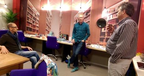 Juren de Vries, co-initiator of Permanent Future Lab