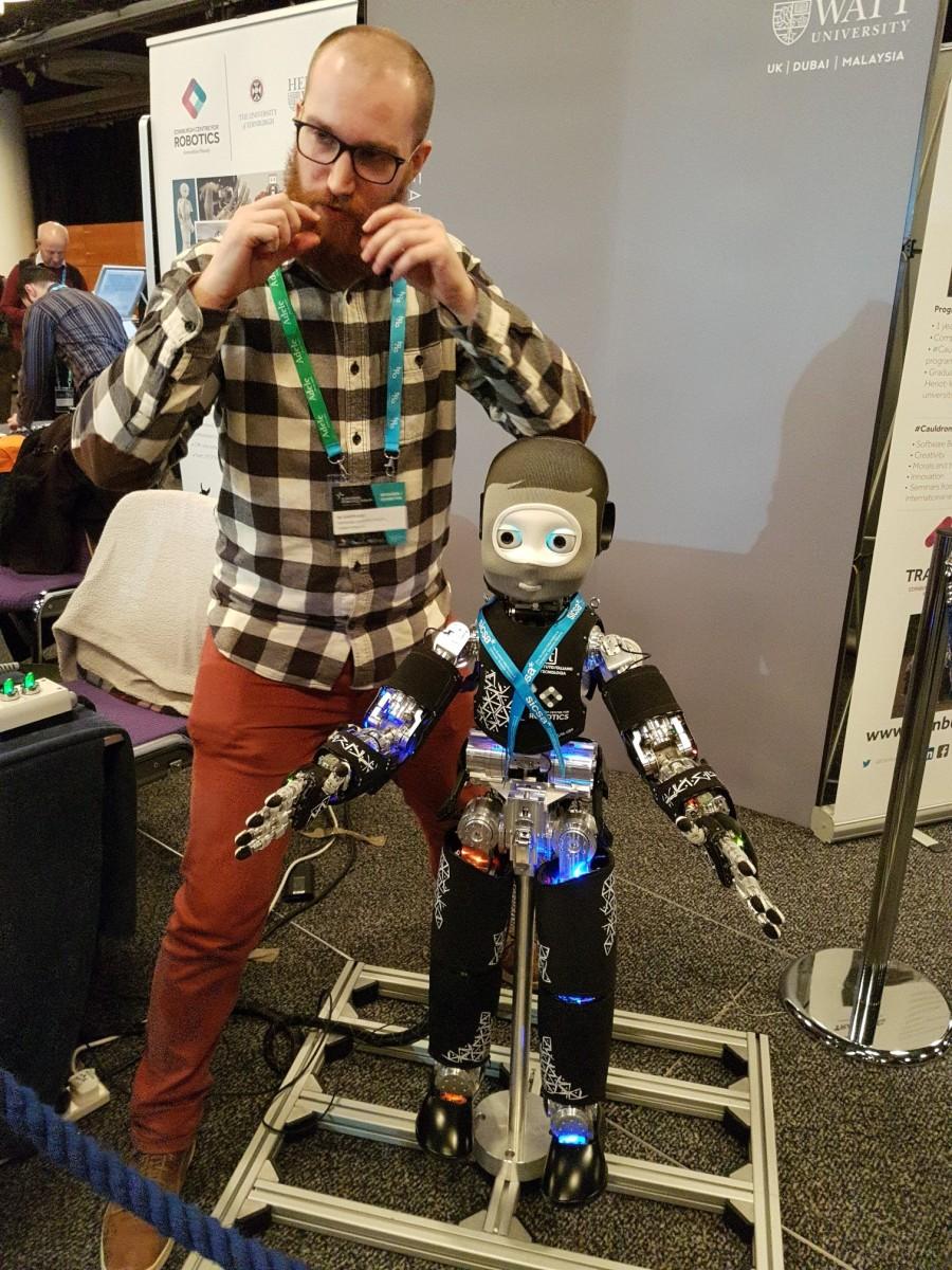 ERF2017 iCub robot
