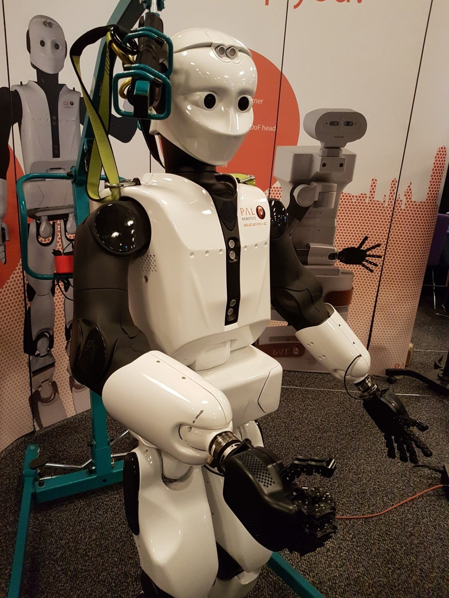 Reem C Robot from Pal