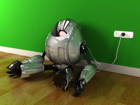 Robot recharge